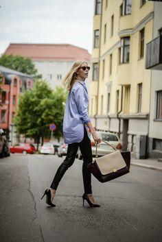 ВИД: Кожаные штаны | СТИЛЬ PLAZA