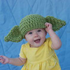 Yoda Hat, Baby Yoda Hat, Infant Yoda Hat, Kids Hat, Baby Hat, Boy Hat, Child Hat, Photo Prop, 3 to 6 months