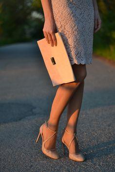 7.pink lace dress
