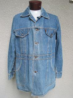 Mens Vintage Levi's Denim Jacket Size XL by VintageClassicWares