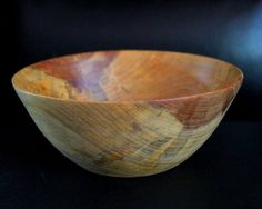 Sycamore Wood Turned Bowl by SerendipitousStyles on Etsy, $50.00