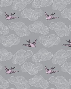Another wallpaper option, illustrated by Julia Rothman