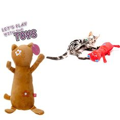 Small Plush Soft Cat Toys Creative And Funny Interactive Gatos Pet Animal Interesting Stuffed Toys Products For Kittens DDMYYX6