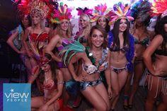 Miss Bikini South America in Tropicana themed swimwear