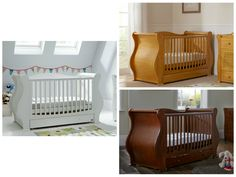 Tutti Bambini Louis Fixside Cot Bed. It will convert to an elegant junior bed once your baby has outgrown the cot and then will convert into a sofa to really add style to your child's bedroom.