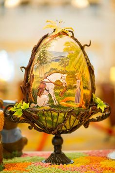 The Grand Floridian Resort at Walt Disney World goes all out for the holidays. | These Disney Easter Eggs Will Blow Your Mind