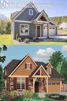 Architectural Designs house plan 69053AM