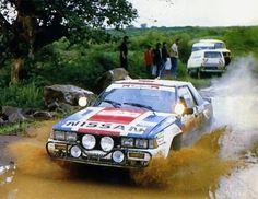 33º MARLBORO SAFARY RALLY 1985  6º CLASIFICADO  A.AMBROSINO - D.LE SAUX  NISSAN 240 RS