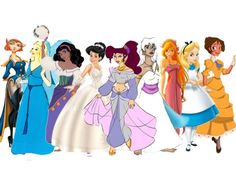 Everybody loves the princesses, but what about all those other amazing Disney girls? Which one are you?