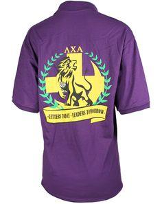 Lambda Chi Alpha Rush Polo by Adam Block Design | Custom Greek Apparel & Sorority Clothes | www.adamblockdesign.com