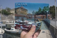 - * Postcard Matching to Background * -