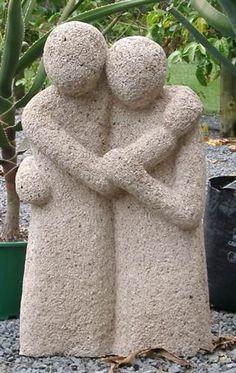 Tufa Sculpture Sculptures Céramiques, Sculpture Art, Organic Sculpture, Art Pierre, Papercrete, Wood Carving Designs, Pottery Sculpture, Stone Carving, Clay Projects