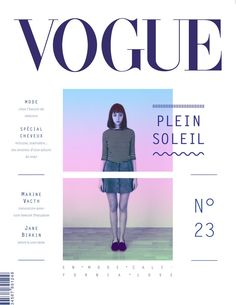 時尚有型的VOGUE雜誌編排 | MyDesy 淘靈感