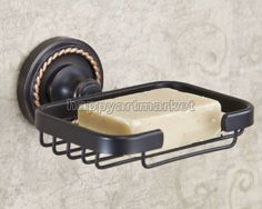 Black-Oil-Rubbed-Brass-Wall-Mounted-Bathroom-Wire-Soap-Dish-Holder-Hba216