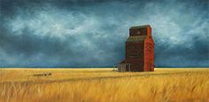 Wendy Palmer - Virtual Art Gallery of Available Giclée Prints - Abandoned Virtual Art, Canadian Artists, Giclee Print, Abandoned, Art Gallery, Painting, Left Out, Art Museum, Painting Art