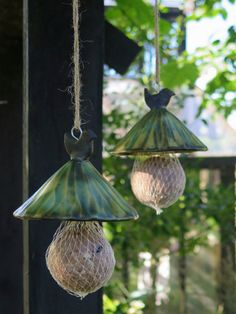 Designer Suet Bird Feeders