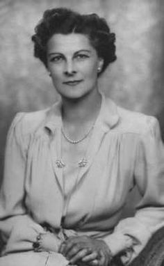 "Elizabeth ""Betty"" Edith Cadbury Butler Huggins, mother of Jeremy Brett, and member of the Cadbury Chocolate family."