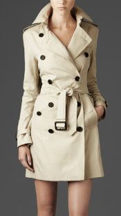Burberry Trench Coat.
