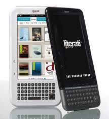 Literati ereaders are not widely preferred and Literati ereader accessories are not that many.