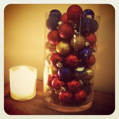 #christmas #candle #ornaments #simple Christmas Candle, Christmas Things, Christmas Time, Christmas Crafts, Christmas Decorations, Christmas Ornaments, Knots, Raspberry, Candles