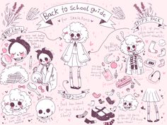 pinkwitchcult: ♡ 3 EASY back to school tips and tricks that'll RATTLE YOUR BONES