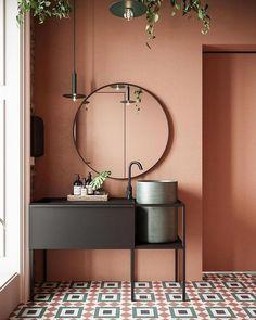 Home Interior Decoration .Home Interior Decoration Restroom Design, Bathroom Interior Design, Interior Paint, Interior Decorating, Interior Livingroom, Interior Colors, Interior Modern, Bad Inspiration, Bathroom Inspiration