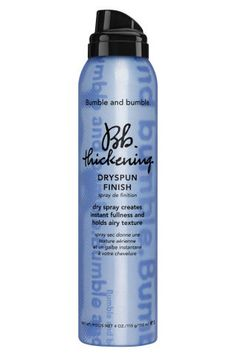 The best Dry Shampoos for every type of hair and hair styles. Bumble and Bumble: