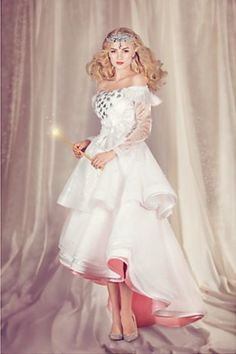 Disney's Oz, the Great & Powerful Glinda the good witch costume! #oz #glinda costume #witch costume