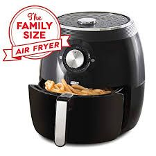 Dash Deluxe Electric Air Fryer + Oven Cooker with Temperature Control, Non Stick Fry Basket, Recipe Guide + Auto Shut Off Feature, 6 qt, Aqua electric air fryer Indoor Electric Grill, Electric Air Fryer, Mini Grill, Kitchen Electronics, Oven Cooker, Cookbooks For Beginners, Small Kitchen Appliances, Air Fryer Recipes