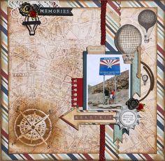 Road Trip - Arizona - Prima - Cartographer Collection