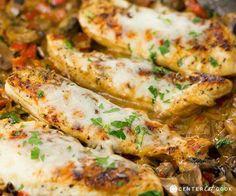 Italian cheesy chicken