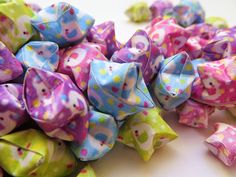 Last year, I thought of doing a feature chronicling the creation of a vast collection of origami stars. Paper Crafts Origami, Origami Stars, Little Star, Elephants, Deviantart, Cute, Diy, Bricolage, Kawaii
