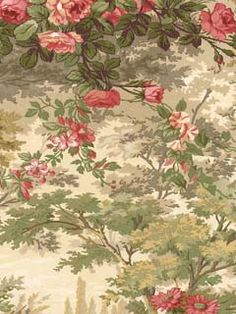 Bedroom? ....45045746 - Wallpaper | TOILES IMPRESSIONS VOL.II | AmericanBlinds.com