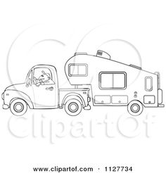 Retro Campers, Happy Campers, Vintage Campers, Vintage Trailers, Applique Patterns, Quilt Patterns, Applique Designs, Paint Rv, Camping Signs