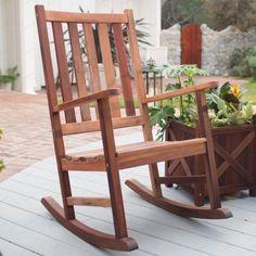 Belham Living Richmond Heavy-Duty Outdoor Wooden Rocking Chair - RRC005, RM029