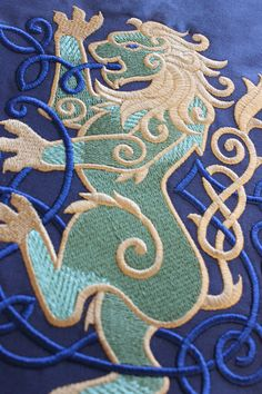 I am in lust with Urban Threads. I've used a few of their designs and love the quality of designs. Celtic & Nordic Machine Embroidery Patterns