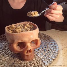 Human Skull Bowl Food Safe | Etsy