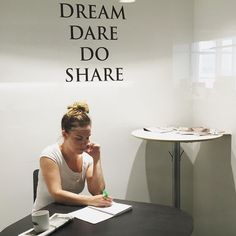 Dream. Dare. Do. Share.