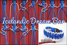 Icelandic Dream Bar und Tutorial | Swiss Paracord
