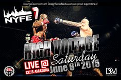 NYFE7 - High Voltage MMA Supporter
