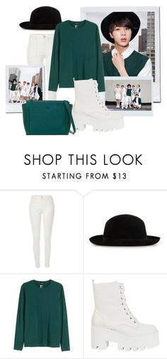 """""""BTS inspired by Jin outfit"""" by schnpri ❤ liked on Polyvore featuring River Island, mywalit, kpop, bts and jin"""