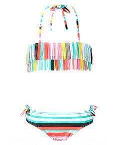Roxy Kids Swimwear. Love the colors.