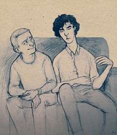 HMS Johnlock :Oh it's just my headcanon about Sherlock falling asleep after long cases while still talking.