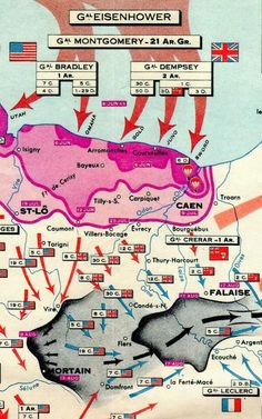 Normandy Campaign via @Margot D.S. D.S. D.S. D.S. D.S. Swift