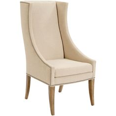 Bernhardt Two Devin Host Chairs ($1,599) ❤ liked on Polyvore