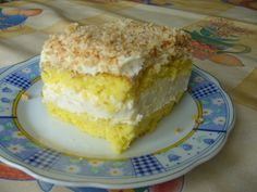 Ciasto rafaello na zniewalajacym biszkopcie-galeria-Ruzia- slajd1 - wielkiezarcie.com Vanilla Cake, Cooking Recipes, Chef Recipes, Recipies, Recipes