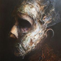 40 x 50 cm/ June 2015 Acrylic on canvas