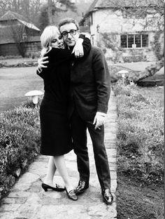 Peter Sellers & Britt Ekland, 1964