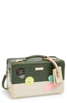 kate spade new york 'smoke and mirrors - corbin' clutch available at #Nordstrom