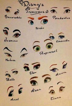Disney Princess eyes